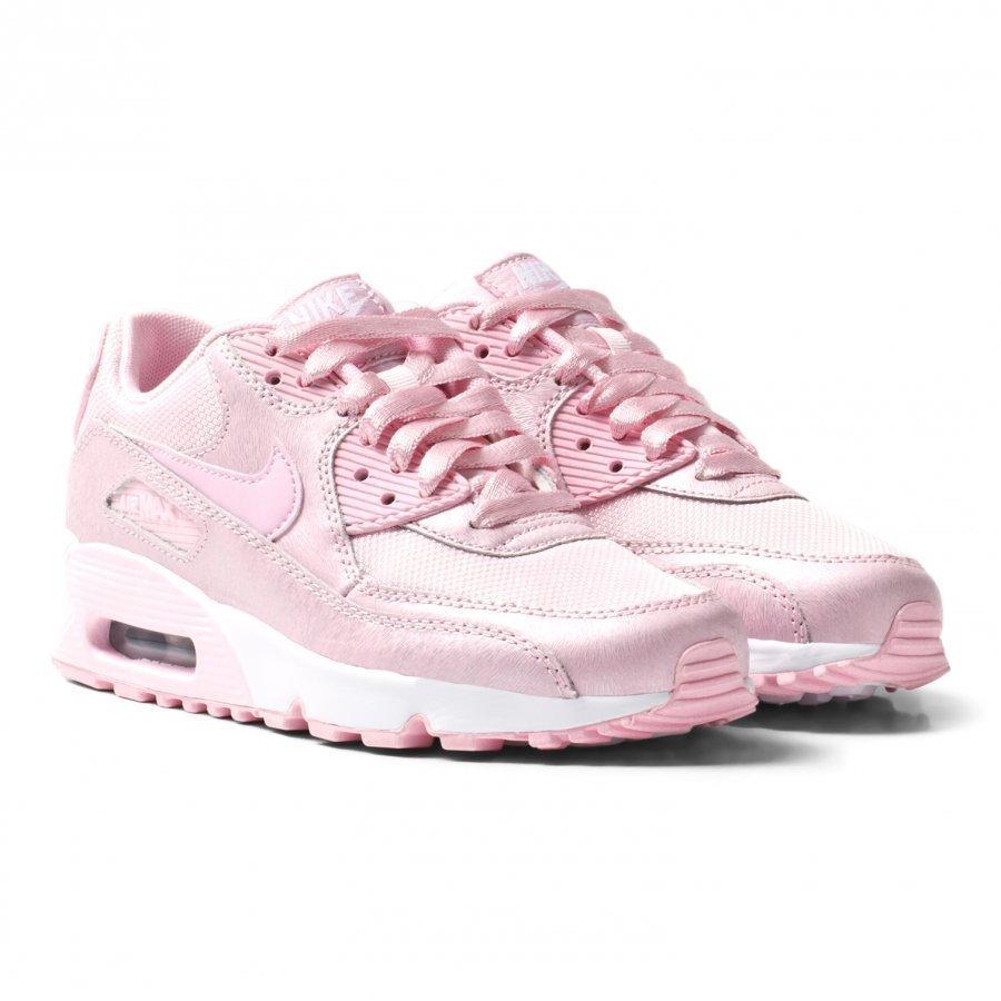 Nike Pink Nike Air Max 90 Se Mesh Junior Sneakers Lenkkarit