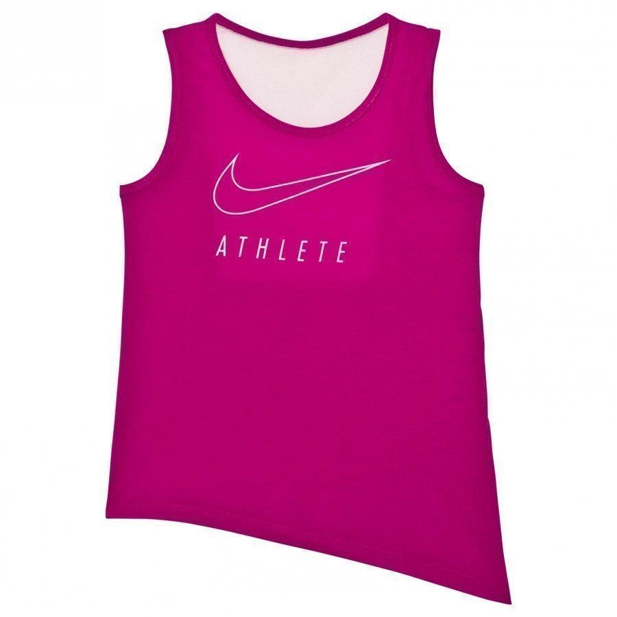 Nike Pink Side Tie Training Tank Top Liivi