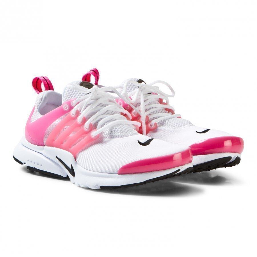 Nike Presto Junior Sneakers In White/Hyper Pink Lenkkarit