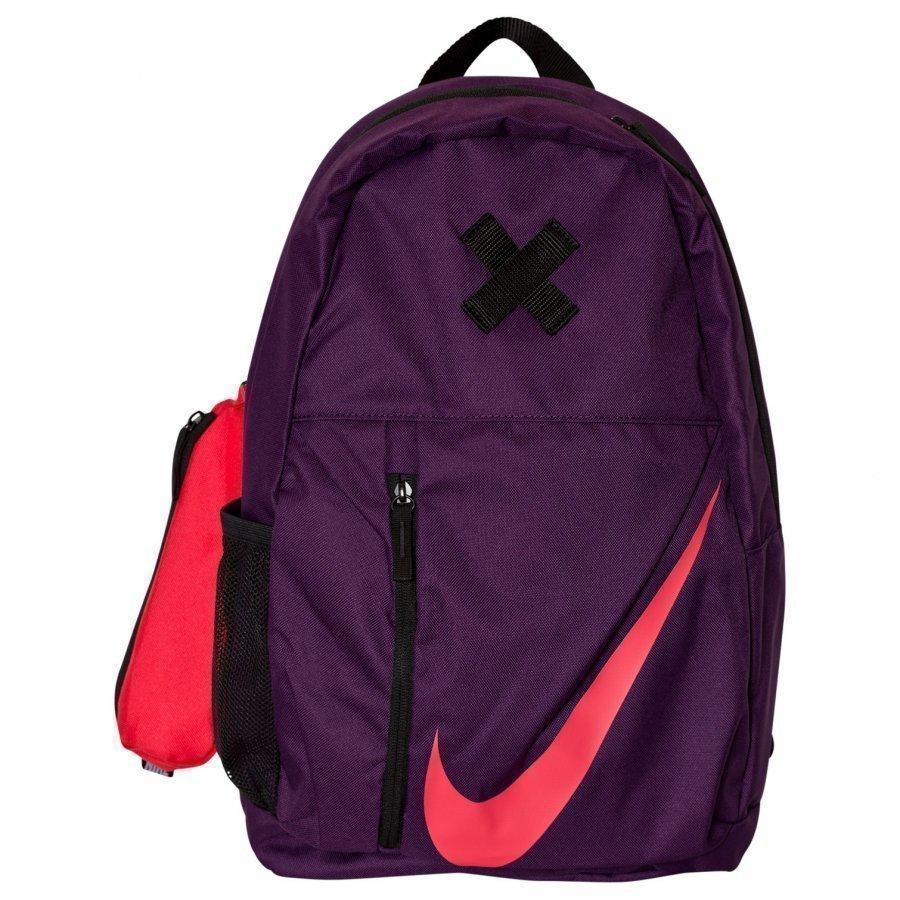 Nike Purple Elemental Backpack Reppu