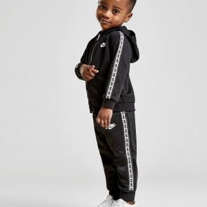 Nike Repeat Tape Poly Full Zip Suit Infant Musta