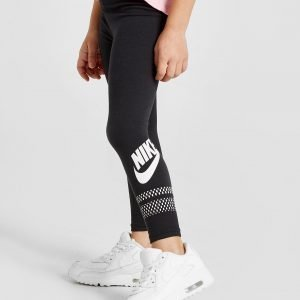Nike Sportswear Girls' Leggings Leggingsit Musta