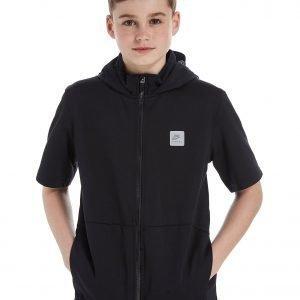 Nike Sportswear Short Sleeve Hoodie Musta