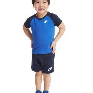 Nike T-Paita & Shortsit Sininen
