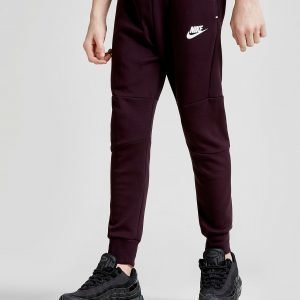 Nike Tech Essential Collegehousut Burgundy / White