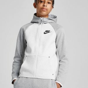 Nike Tech Essential Colour Block Full Zip Hoodie Valkoinen
