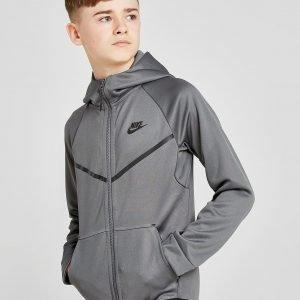 Nike Tech Poly Full Zip Hoodie Harmaa