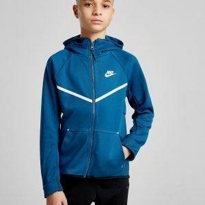 Nike Tech Poly Full Zip Hoodie Sininen