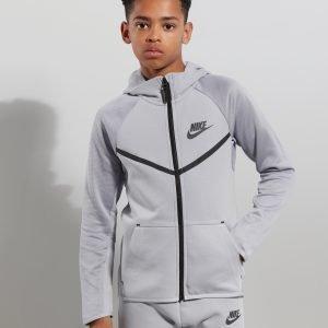 Nike Tech Poly Full Zip Huppari Harmaa