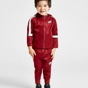 Nike Tribute Poly Tracksuit Infant Punainen