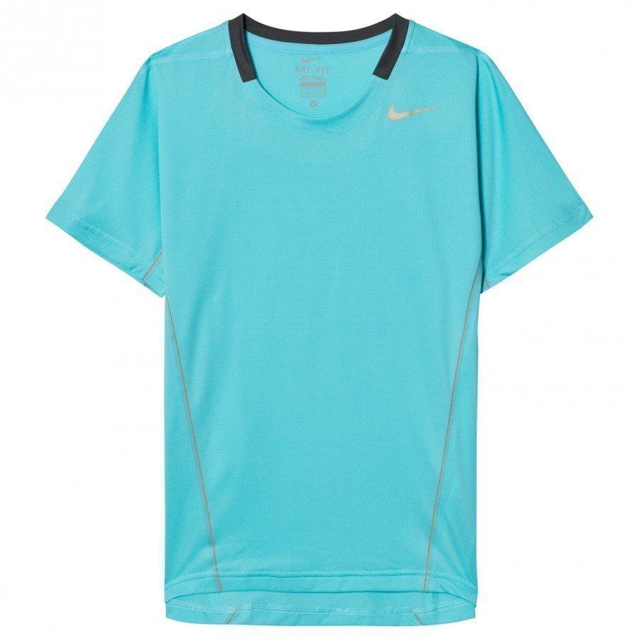 Nike Turquoise Tennis Tee Treenipaita