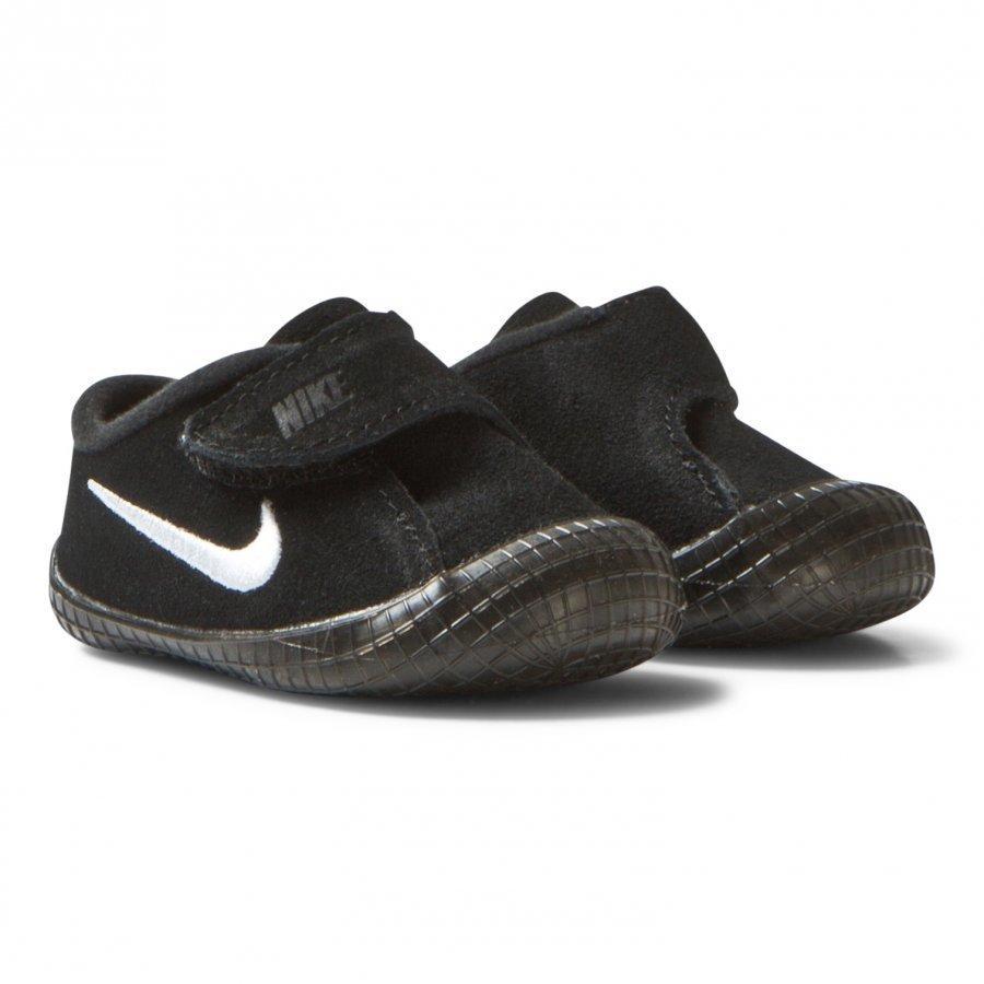 Nike Waffle 1 Crib Shoes Black Lenkkarit