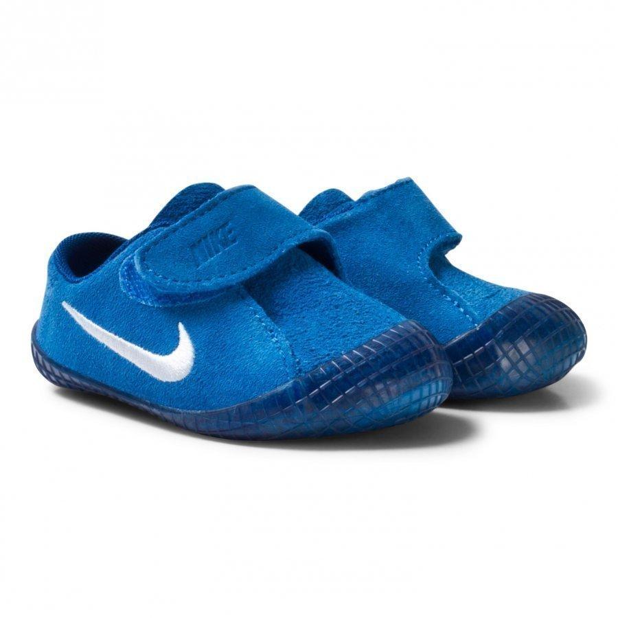 Nike Waffle 1 Crib Shoes Blue Lenkkarit