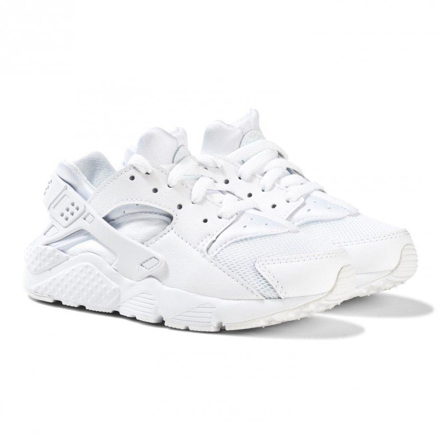 Nike White Huarache Run Trainers Lenkkarit
