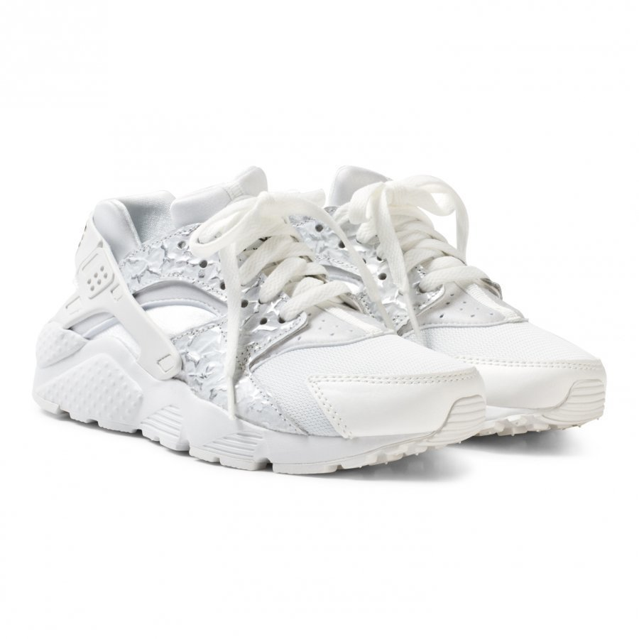 Nike White Nike Huarache Run Junior Shoe Lenkkarit