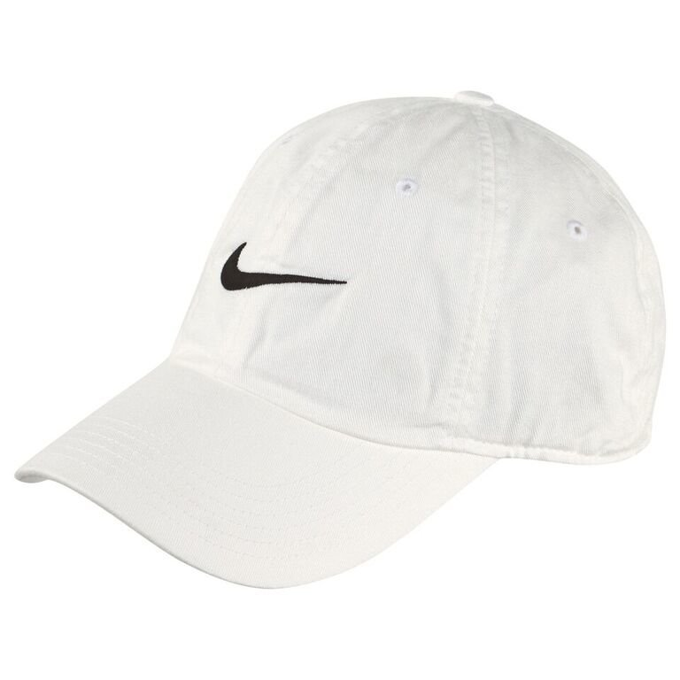 Nike White Swoosh Heritage Adjustable Cap Lippis