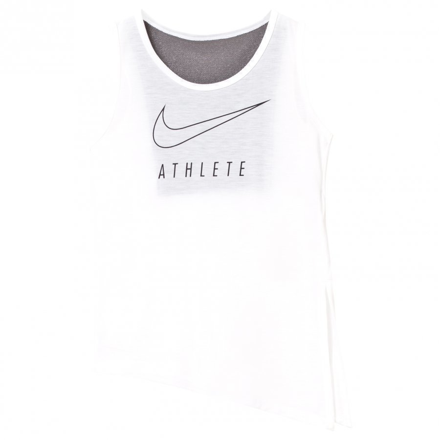 Nike White Tank Top With Side Tie Liivi