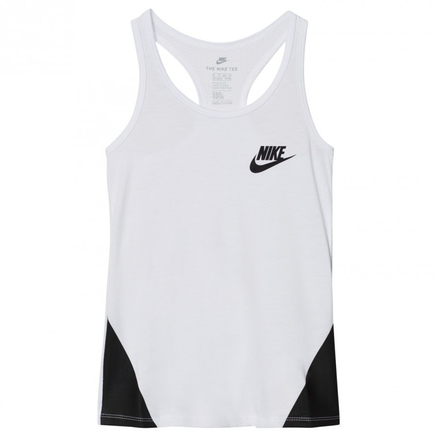 Nike White Tech Tank Top Liivi