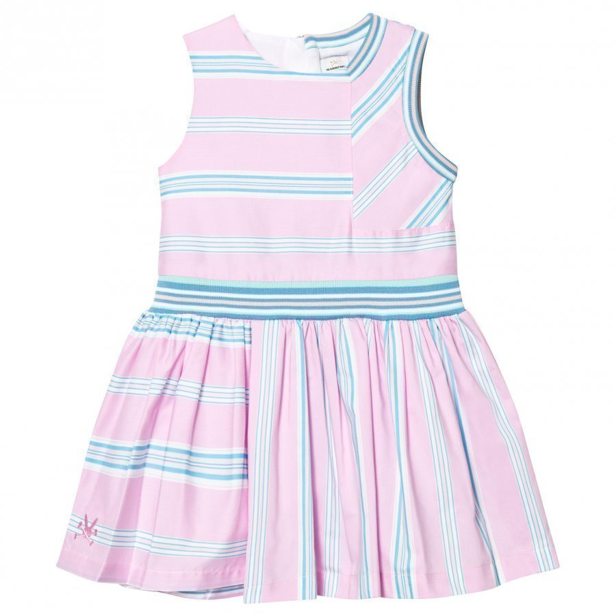 No Added Sugar In A Heartbeat Dress Quad Stripe Mekko