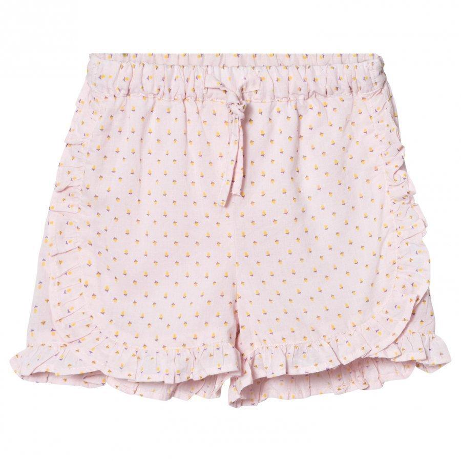Noa Noa Miniature Baby Delicate Voile Printed Shorts Pink Dogwood Shortsit