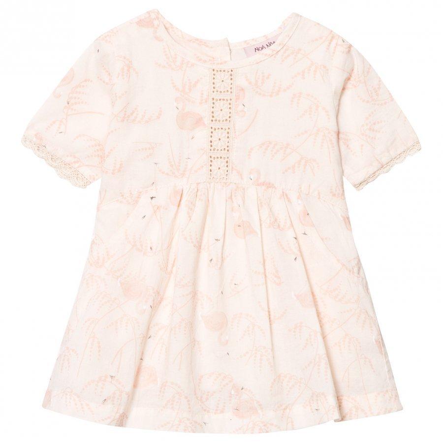 Noa Noa Miniature Baby Dress Voile Printed Pink Tint Mekko