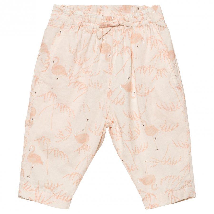 Noa Noa Miniature Baby Pants Voile Printed Pink Tint Housut