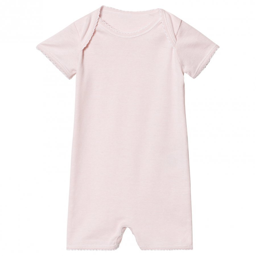 Noa Noa Miniature Basic Striped Romper Pink Dogwood Potkupuku