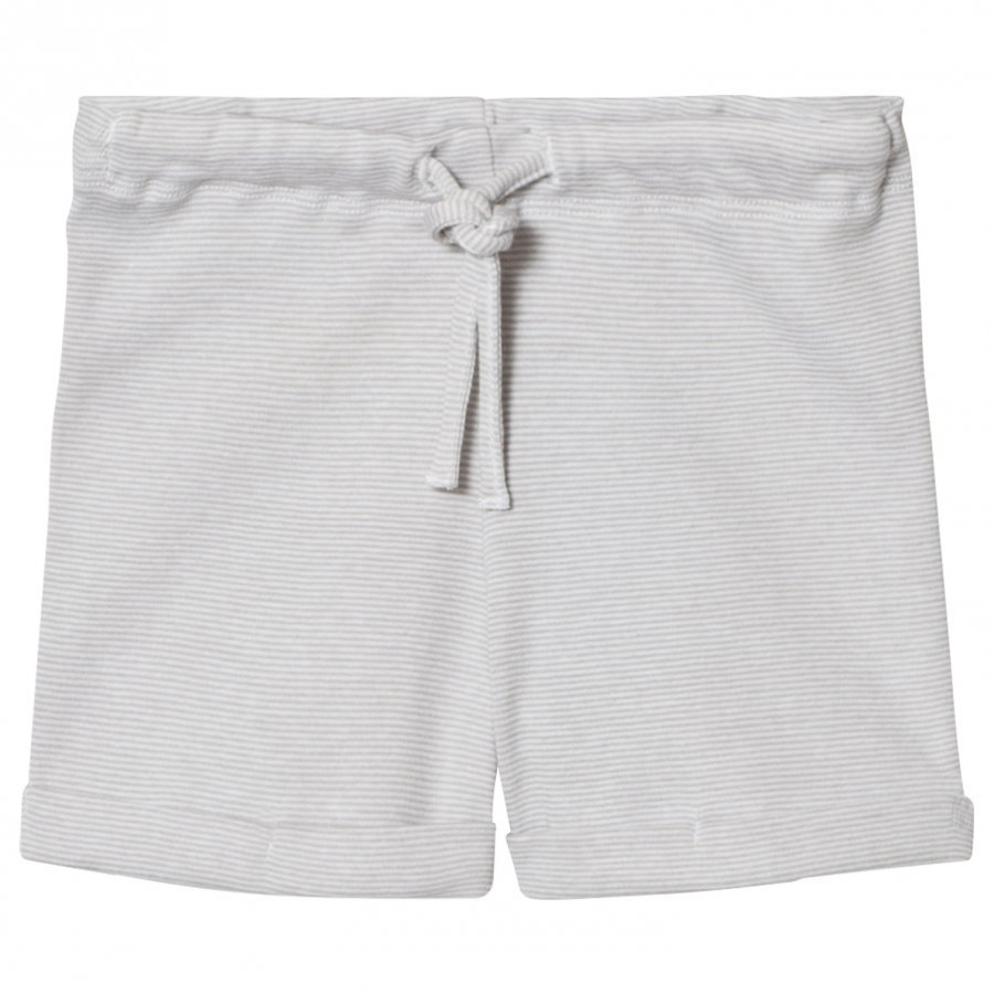 Noa Noa Miniature Basic Striped Shorts Drizzle Shortsit