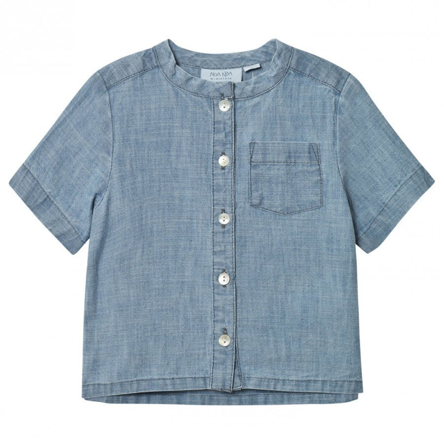 Noa Noa Miniature Boy Blue Denim Blue Pusero