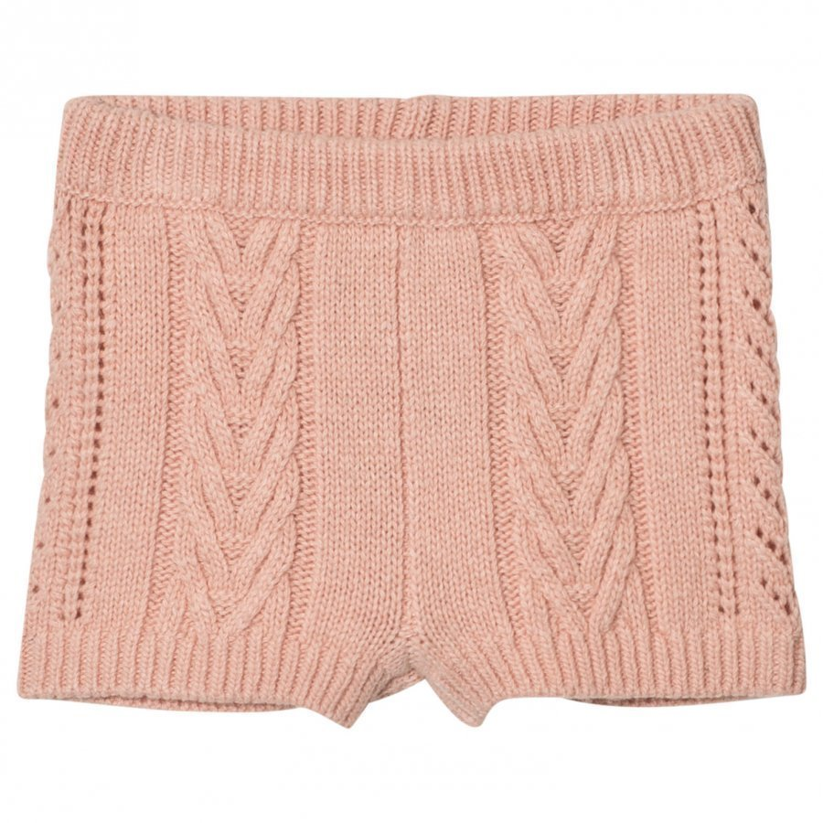 Noa Noa Miniature Braid Knit Shorts Evening Sand Verryttelyhousut