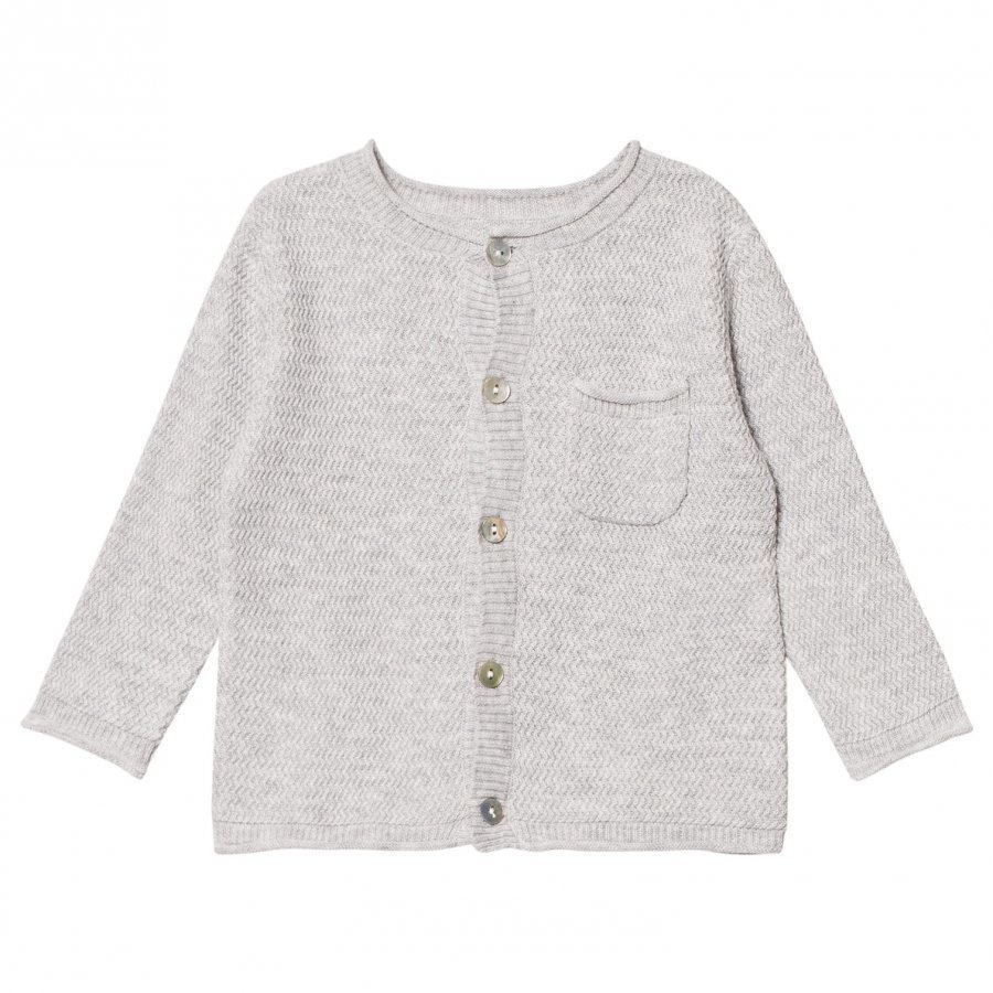 Noa Noa Miniature Cardigan Light Grey Melange Neuletakki