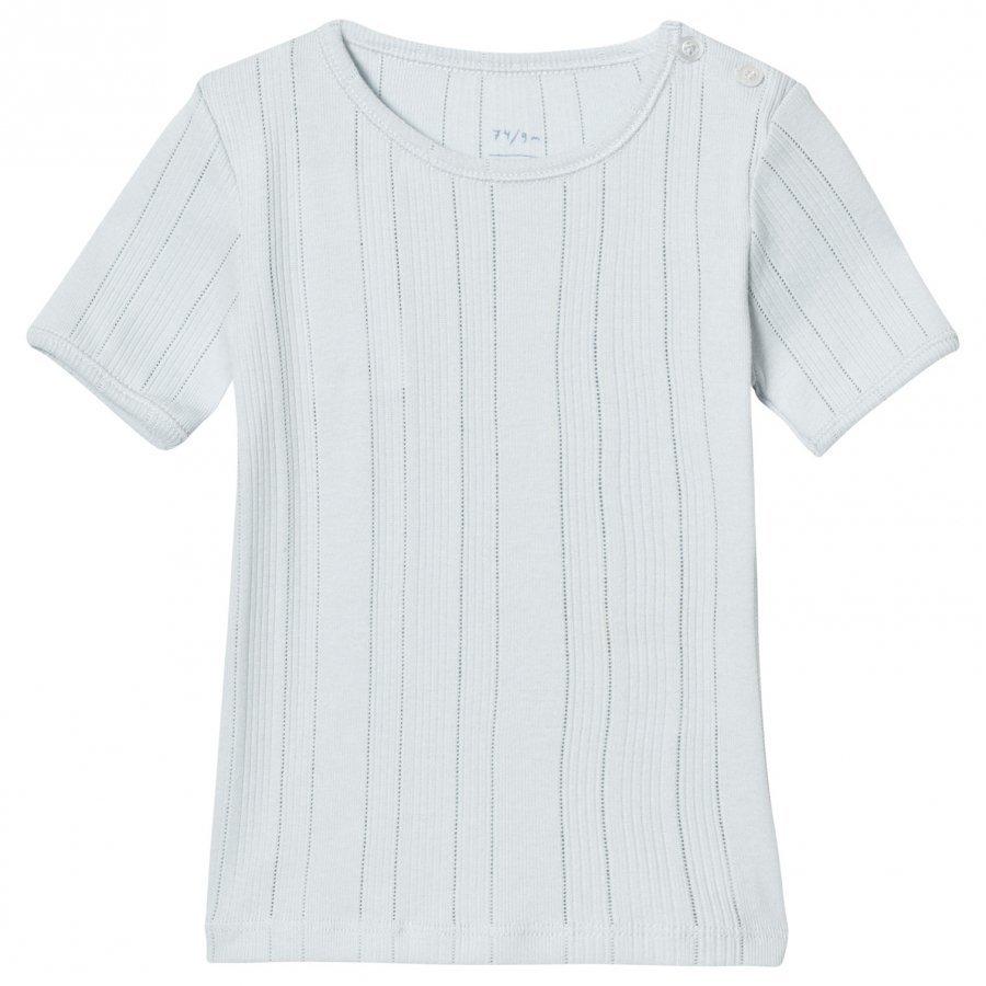 Noa Noa Miniature Doria Basic T-Shirt Baby Blue T-Paita