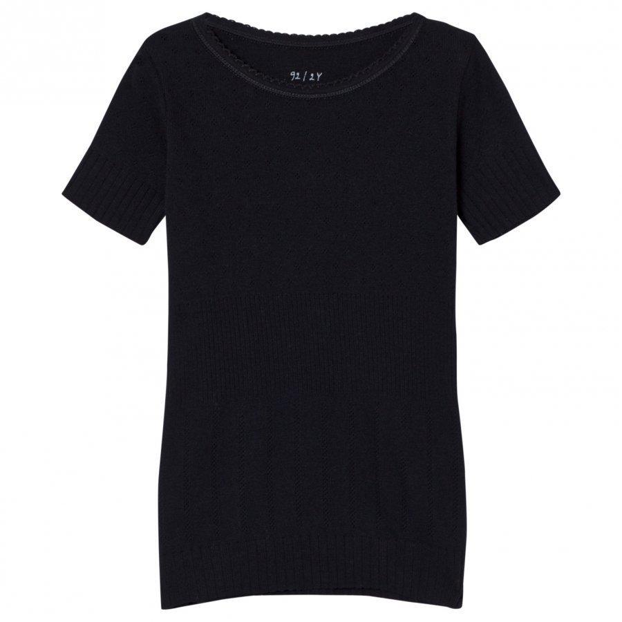 Noa Noa Miniature Doria Mini Basic T-Shirt Black Pitkähihainen T-Paita