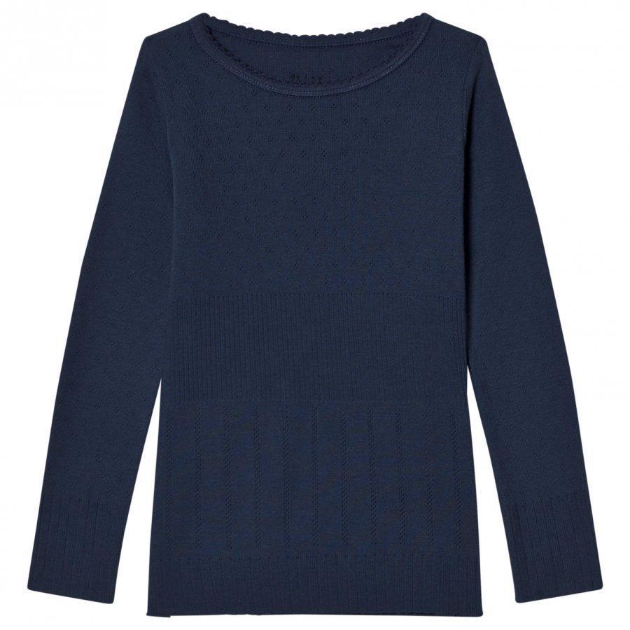 Noa Noa Miniature Doria Top Blue Pitkähihainen T-Paita