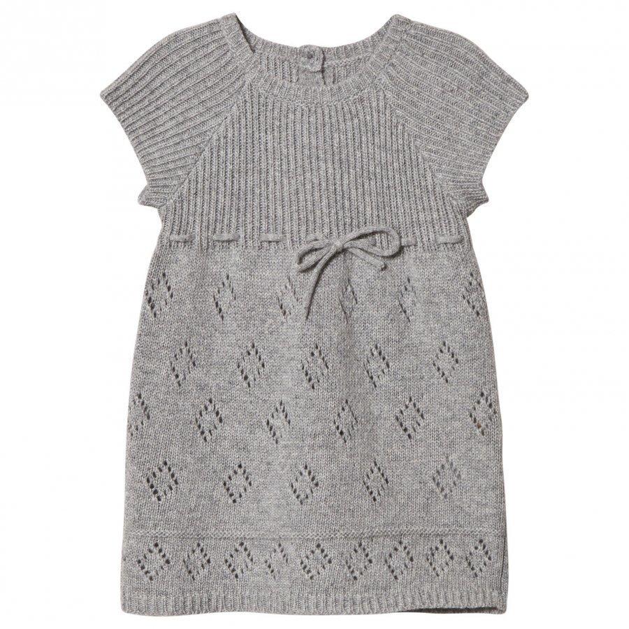 Noa Noa Miniature Grey Knit Dress Mekko