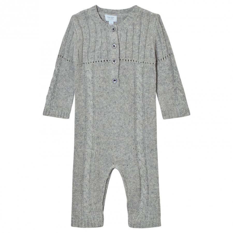 Noa Noa Miniature Grey Knit One-Piece Body