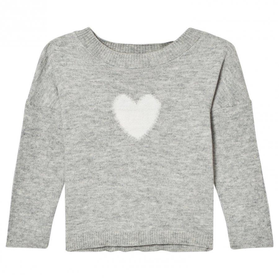 Noa Noa Miniature Lamsa Sweater Grey Pitkähihainen T-Paita