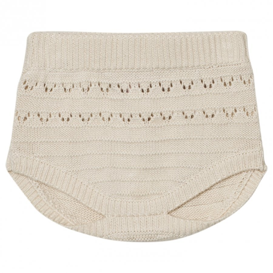 Noa Noa Miniature Lua Knit Bloomers Chalk Oloasun Shortsit