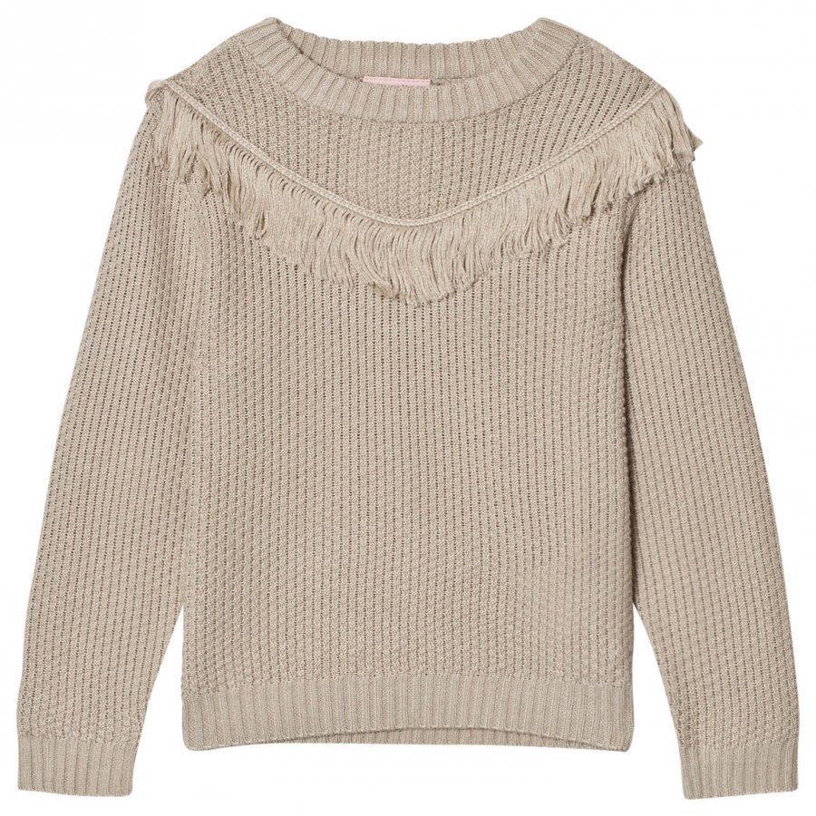 Noa Noa Miniature Lua Knit Sweater Silver Lining Pitkähihainen T-Paita