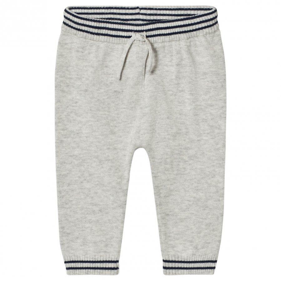 Noa Noa Miniature Melange Pants Light Grey Housut