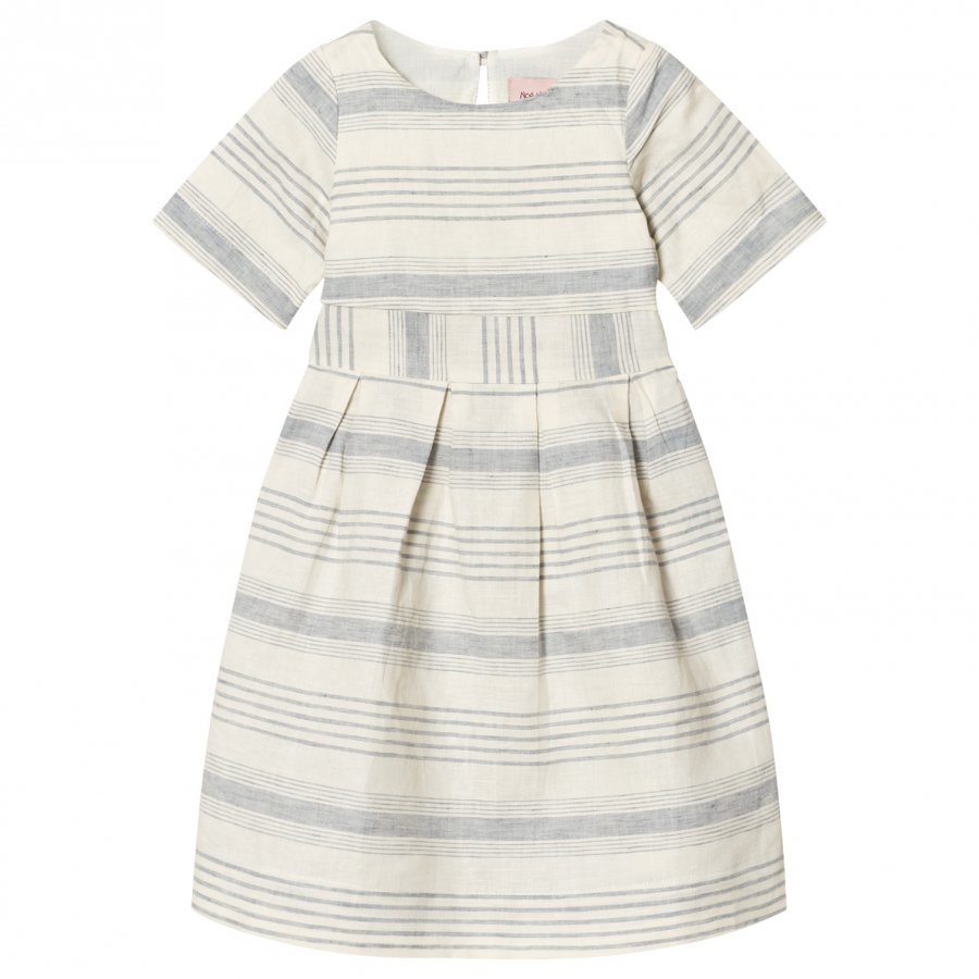 Noa Noa Miniature Mini Lin Dress Chalk Mekko