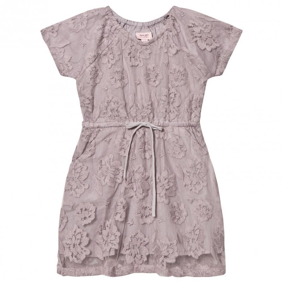 Noa Noa Miniature Mini New Net Dress Gull Grey Pusero