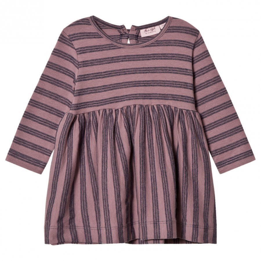 Noa Noa Miniature Rosa Stripe Dress Toadstool Mekko