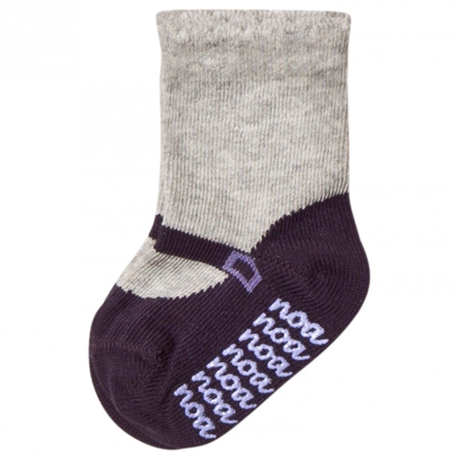 Noa Noa Miniature Shirley Ankle Socks Light Grey Sukat