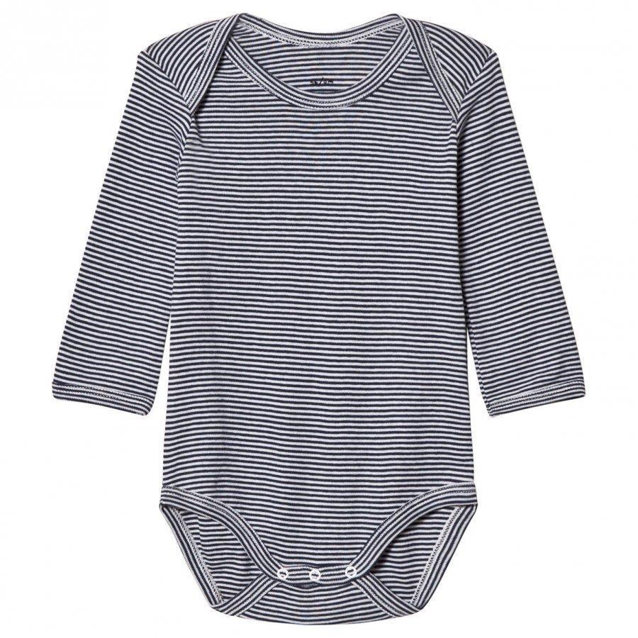 Noa Noa Miniature Stripe Baby Body Navy Body