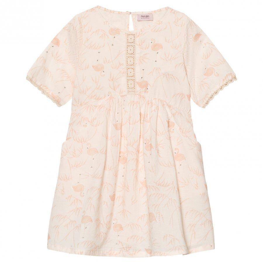 Noa Noa Miniature Voile Printed Dress Pink Tint Mekko