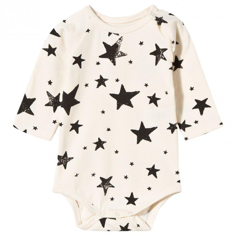 Noe & Zoe Berlin Baby Body In Black Stars Body