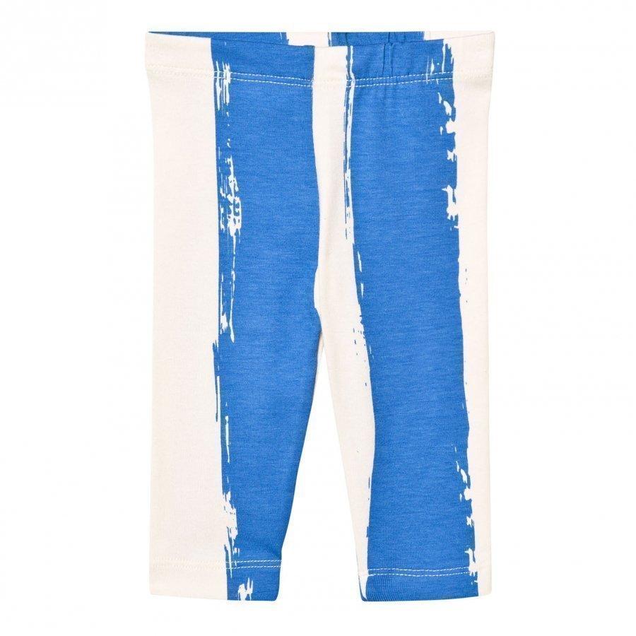 Noe & Zoe Berlin Blue Stripe Leggings Legginsit