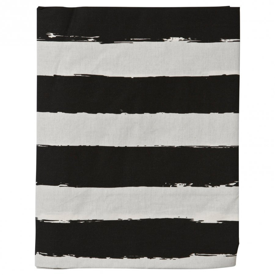 Noe & Zoe Berlin Junior Bedsheet Black Stripes Xl Pussilakanasetti