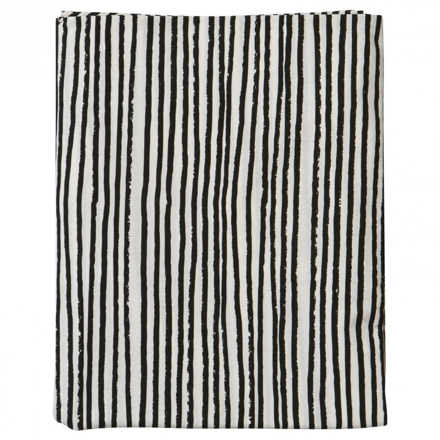 Noe & Zoe Berlin Kids Bedsheet Black Stripes Pussilakanasetti
